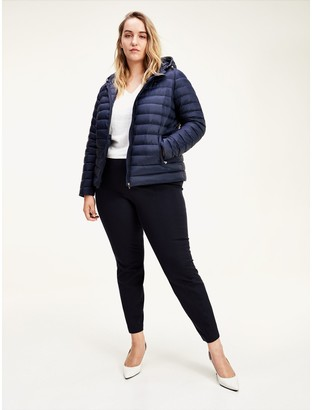 Tommy Hilfiger Curve Packable Hooded Down Jacket