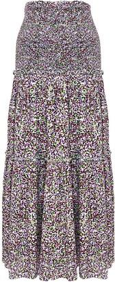 Ginger & Smart Impression dot-print skirt