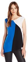 Bailey 44 Women's Carny Colorblock Sleeveless Top
