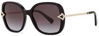Bvlgari Black Oversized Sunglasses