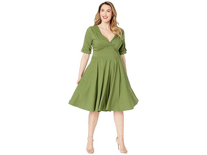 e3addd078f1 Vintage Fit And Flare Dress - ShopStyle