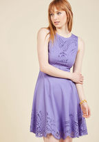 ModCloth Invitation Designer Dress in Amethyst in L