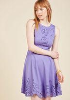 ModCloth Invitation Designer Dress in Amethyst in L