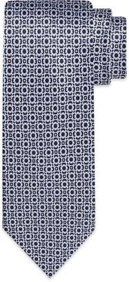 Stefano Ricci Men's Medallion/Square Printed Silk Tie
