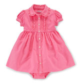 Ralph Lauren Cotton Oxford Dress & Bloomer