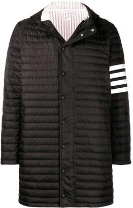 Thom Browne 4-bar padded coat