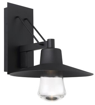 """Modern Forms LED Outdoor Armed Sconce Size: 17"""" H x 14"""" W x 16"""" D"""