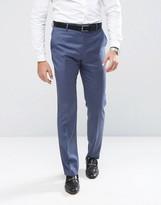 Reiss Slim Suit Pants In Blue