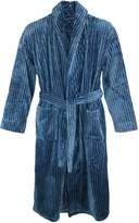Majestic International Men's Plush Robe, Small Medium