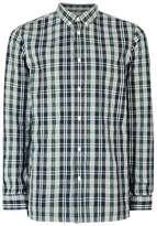 Selected Green and Grey Check Shirt