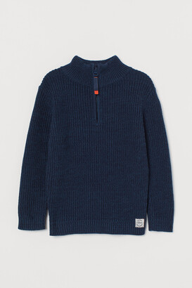 H&M Ribbed Cotton Sweater