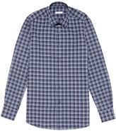 Boglioli Check plaid poplin shirt