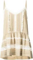 P.A.R.O.S.H. loose-fit vest top - women - Silk/Cotton/Polyamide/Acetate - S