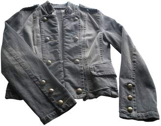 Marc Cain Anthracite Cotton Jacket for Women
