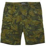 L.L. Bean Signature Cargo Shorts, Slim Straight Print