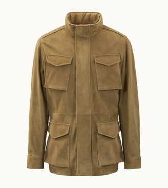 Tod's Field Jacket in Suede