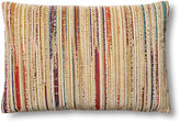 Dransfield and Ross Distressed 24x16 Pillow, Multi