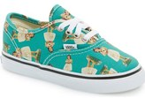 Vans 'Authentic - Digi Hula' Sneaker (Baby, Walker, Toddler, Little Kid & Big Kid)