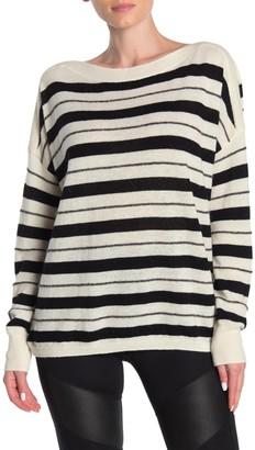 AllSaints Misty Stripe Dolman Sweater