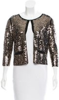 Sandro Sequin Embellished Cardigan