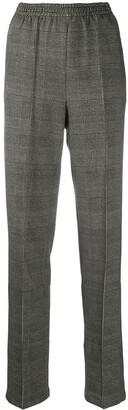 Rag & Bone Elasticated Plaid Tailored Trousers
