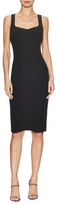 Narciso Rodriguez Open Back Cocktail Sheath Dress