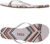 TKEES T KEES Thong sandals