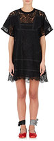 Sacai Women's Cotton-Blend Lace Shift Dress