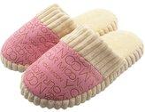 QZBAOSHUen Woen Soft War Indoor Cotton Slippers Hoe Anti-slip Shoes (:40-41, )