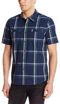 Quiksilver Waterman Men's Observation Deck Button-Front Shirt