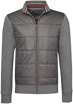 Tommy Hilfiger Berny Zip Up Jacket, Silver Fog Heather