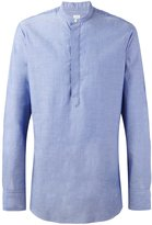 E. Tautz grandad collar shirt - men - Cotton - 15