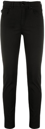 Love Moschino Heart-Plaque Skinny Jeans