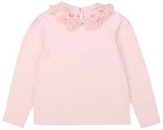 Charabia Collared Long-Sleeved Top (3-14 Years)