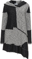 Inca Plus Size Patchwork hooded cardigan