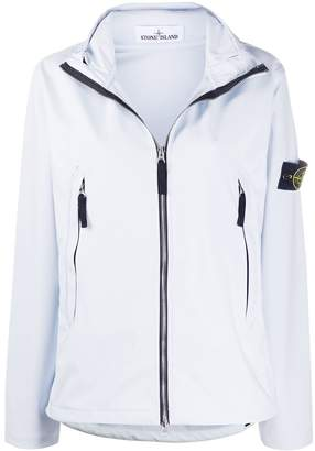 Stone Island funnel-neck technical jacket
