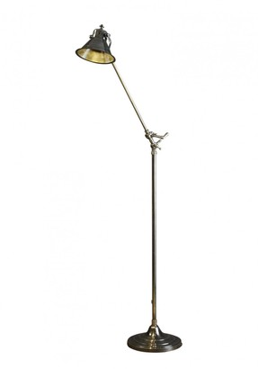 Emac & Lawton Morton Floor Lamp Antique Silver