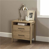 Asstd National Brand Gravity 2-Drawer Nightstand