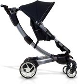 4 Moms 4Moms Origami Pushchair with Silver Seat Liner