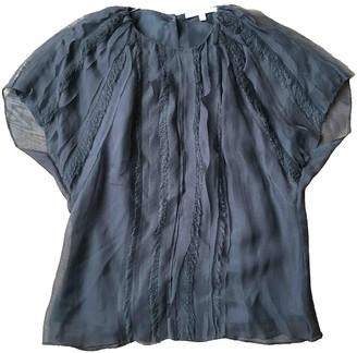 Vanessa Bruno Grey Silk Top for Women