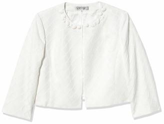 Kasper Women's Honeycomb Jacquard Flyaway Jacket
