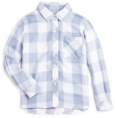 Rails Little Girls' Hudson Big Check Twill Shirt - Sizes 4-12
