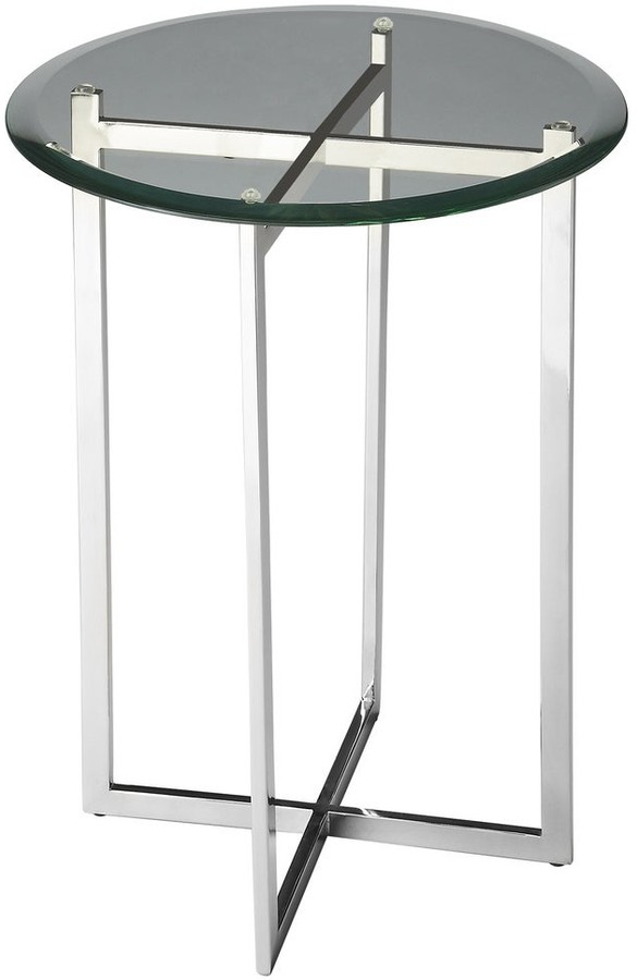Thumbnail for your product : Butler Handmade Glass and Steel End Table