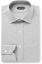 Tom Ford - Slim-fit Gingham Cotton-poplin Shirt