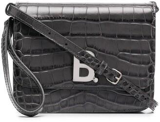 Balenciaga B plaque crossbody bag