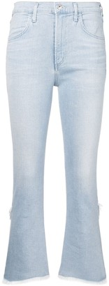Citizens of Humanity Cryst cropped jeans