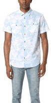 Calvin Klein Jeans Floral Shadow Print Short Sleeve Shirt