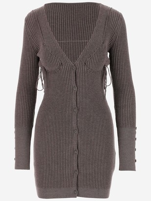 Jacquemus Lauris Cardigan Dress
