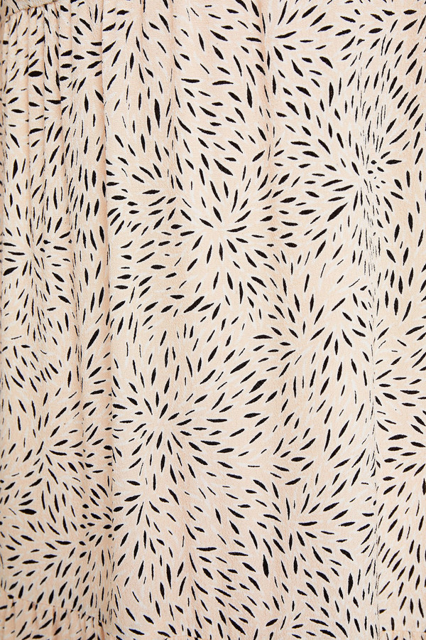 Thumbnail for your product : BA&SH Bahia Gathered Printed Crepe Maxi Dress