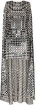 Ashish cape sequin mini dress